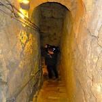 SWR-Kameramann auf der Treppe