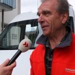 Walter Saur im Radio-Interview